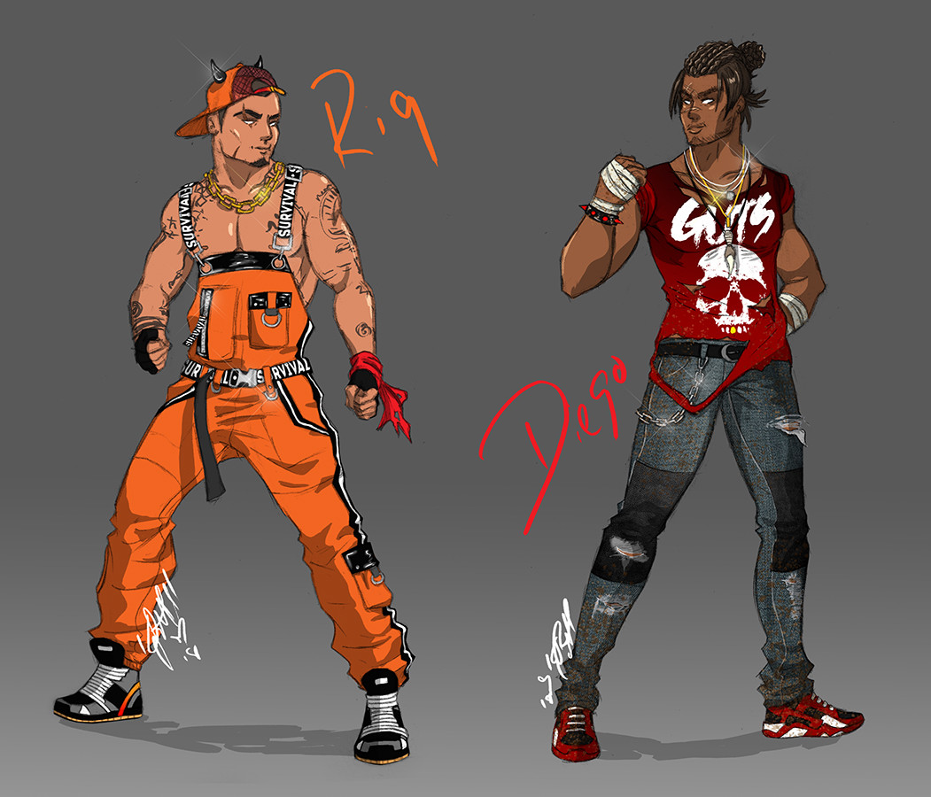 Boogie Pittrell Dead Or Alive 6 Rig And Diego