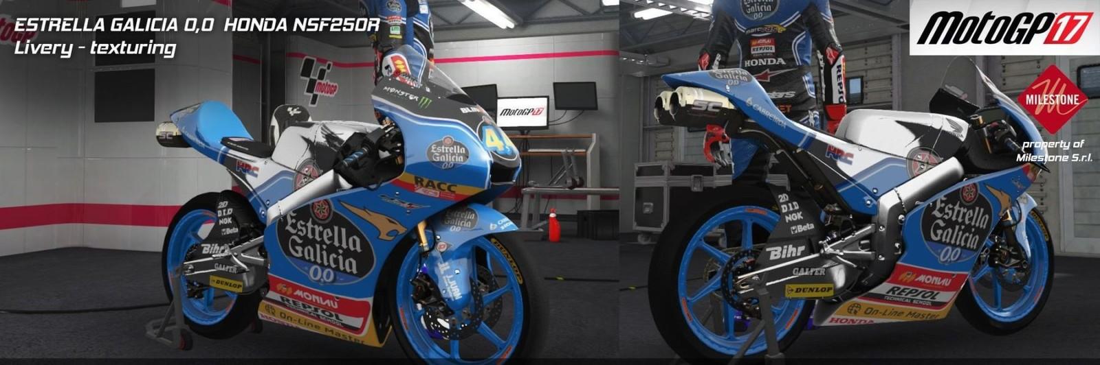 MotoGP 17 Texture work