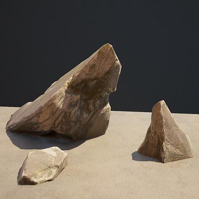Mossy Sedimentary Rocks