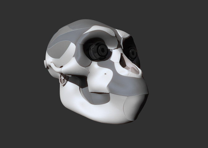 ArtStation - Mechanical monkey concept, Marcelo Pasqua