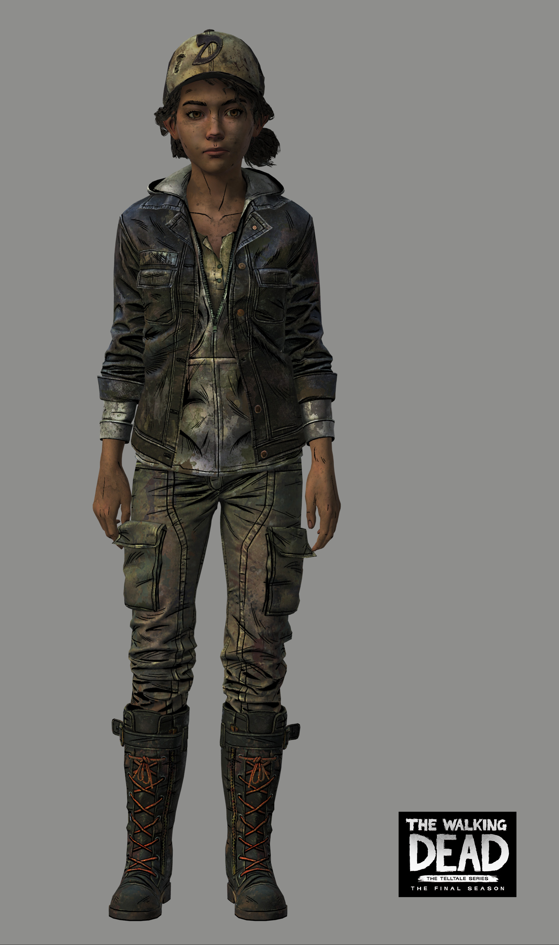 The Walking Dead The Final Season Concept Art