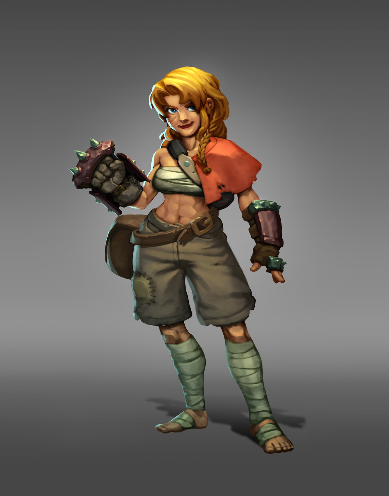Concept Bandit Girl