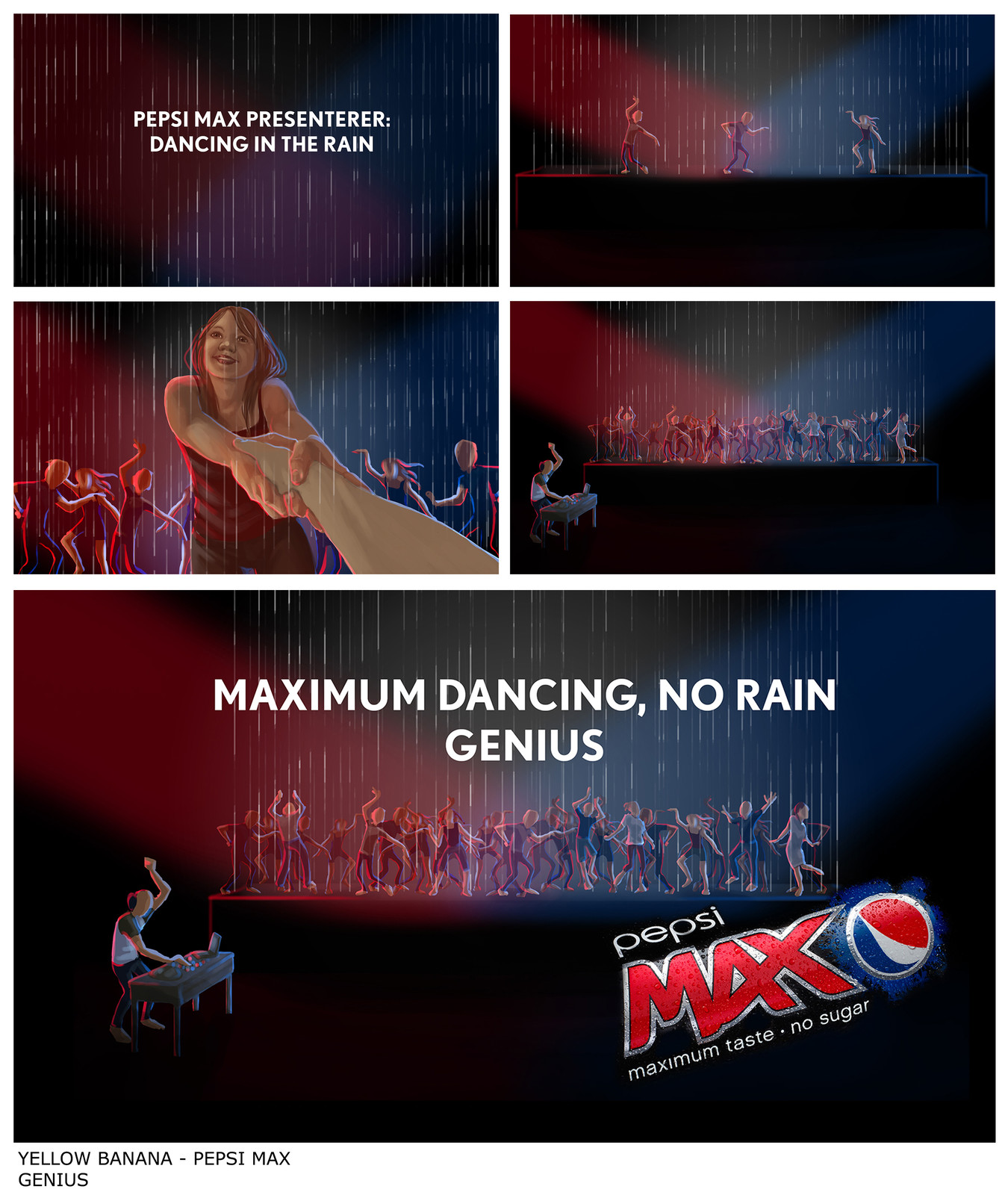 Pepsi Max - Dancing in the Rain