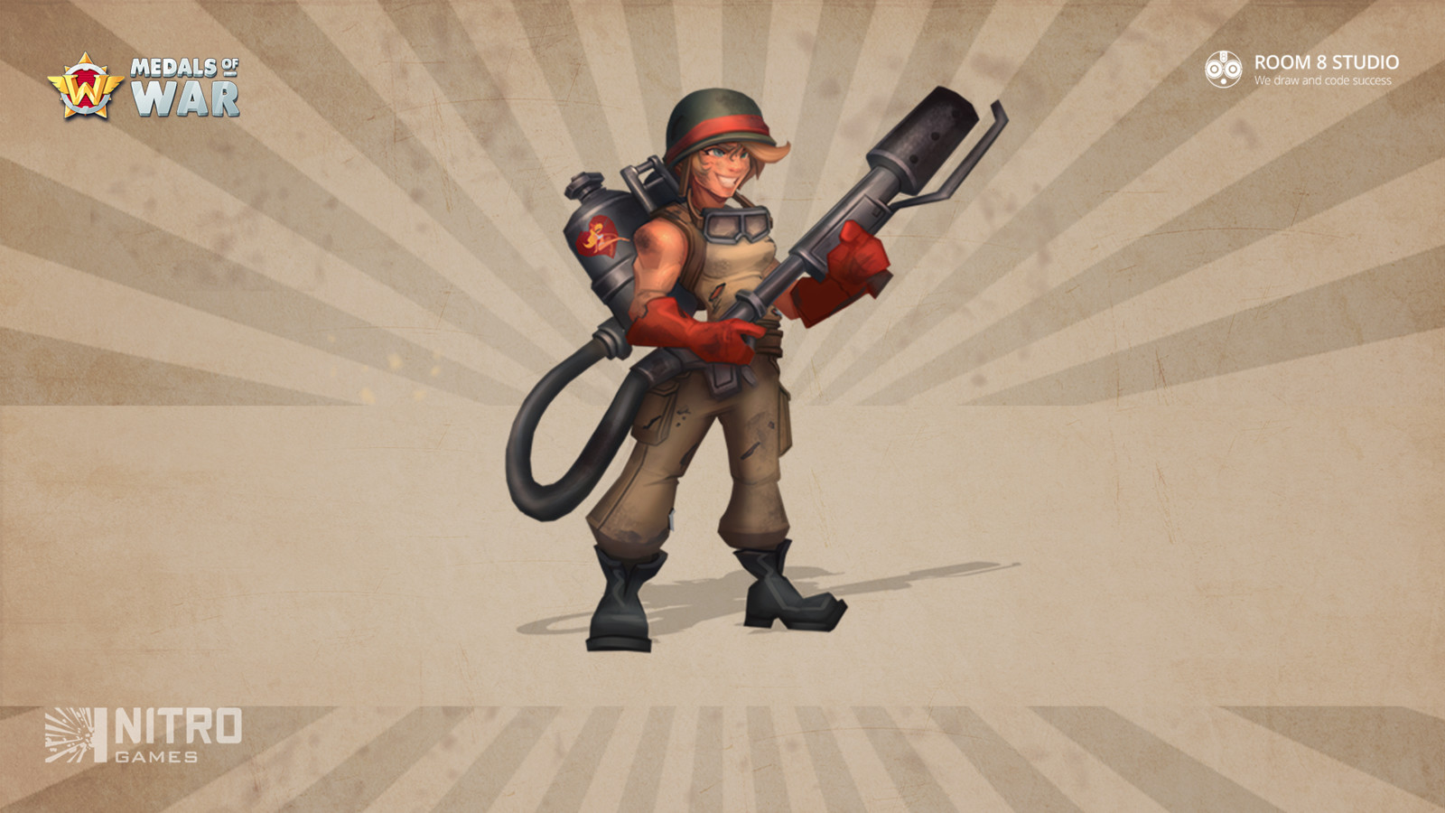 Flamethrower: Concept Art and 3D Model