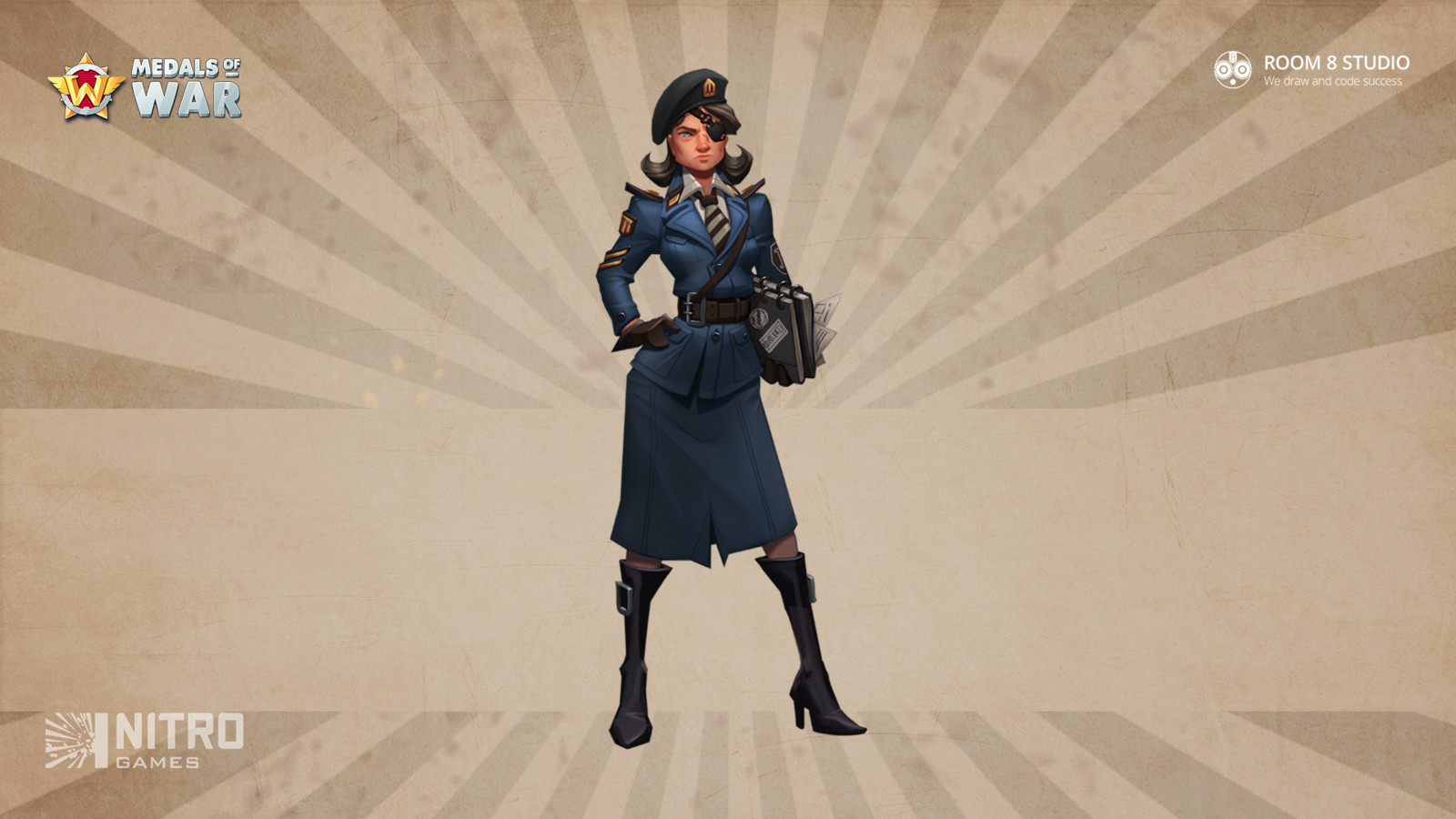 Officer Simone Venin: Concept Art