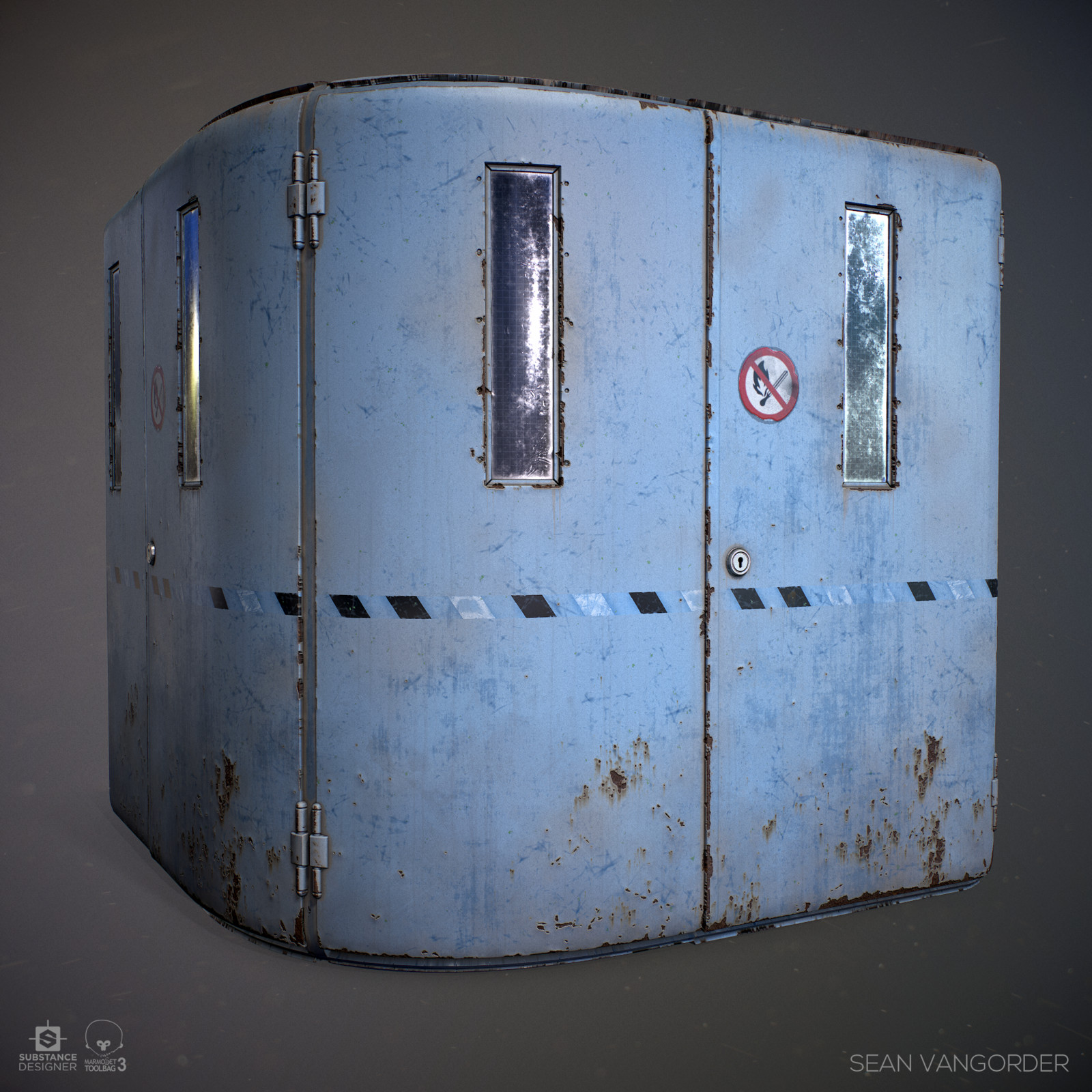 Substance Designer | Industrial Door