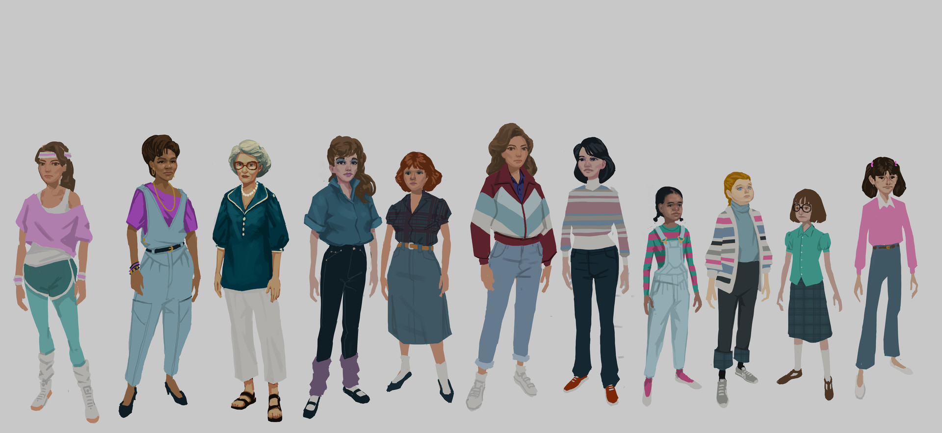 Bruce glidewell female kit roughs