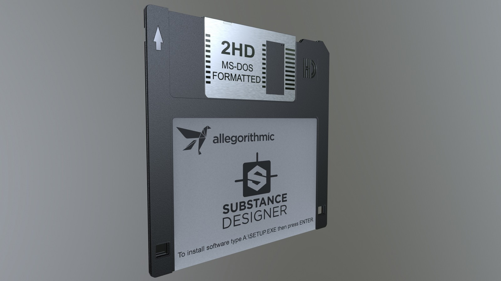 Substance Designer Floppy Disk