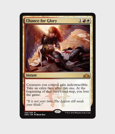 Bram sels wotc chance for glory card bram sels
