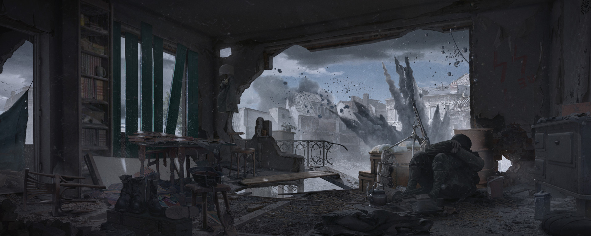 Miroslav misic ww2 sniper nest 03