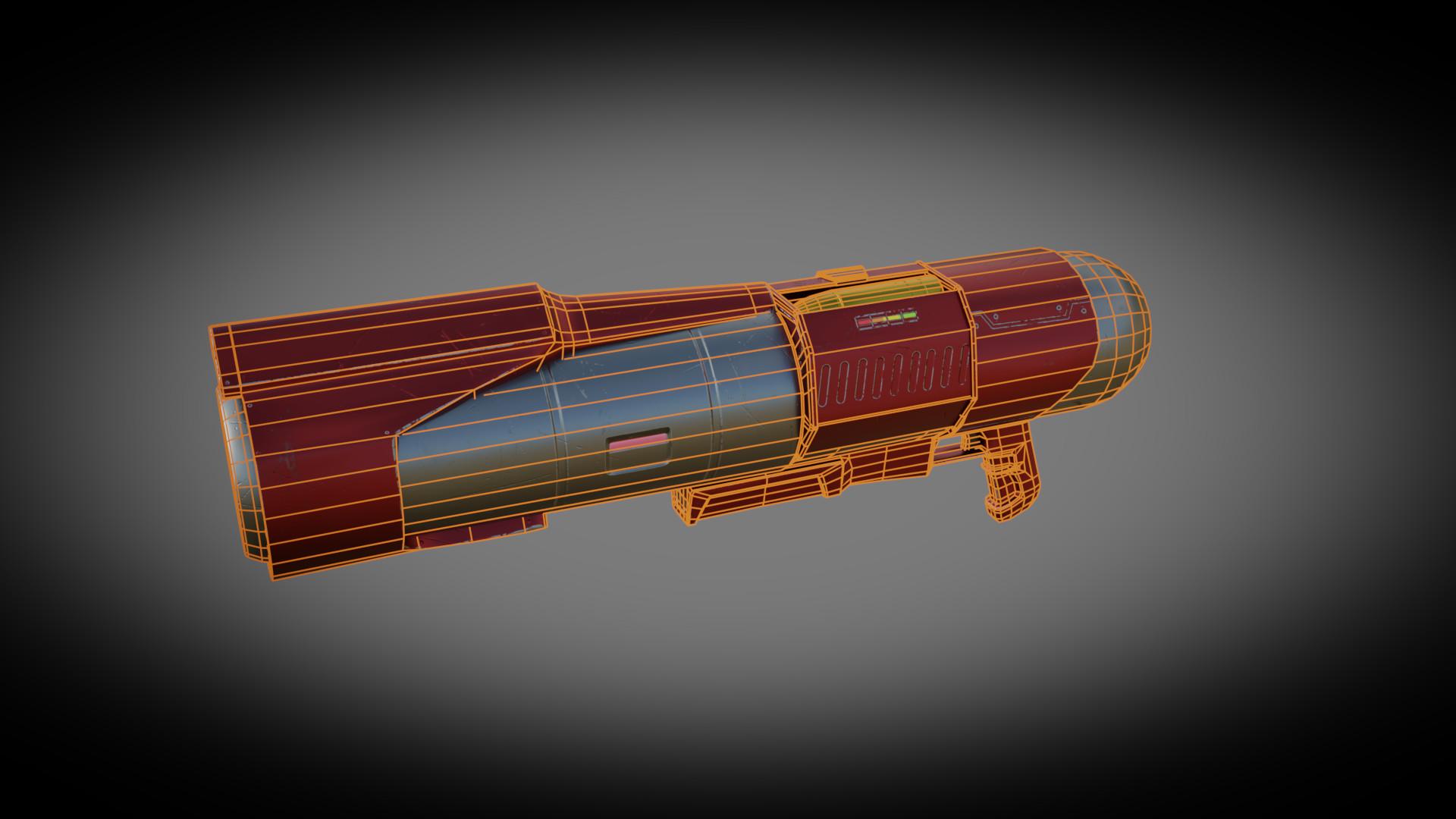 Emanuel cacciola rocket wireframe 1