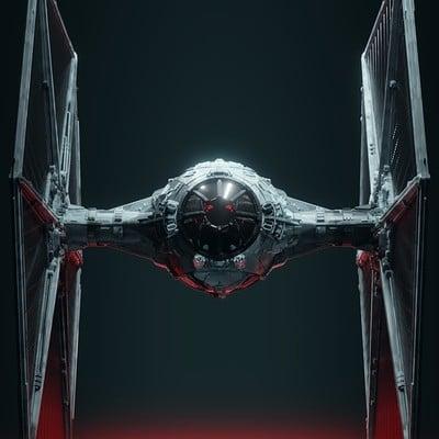 Wanoco 4d starwars tiefighter5