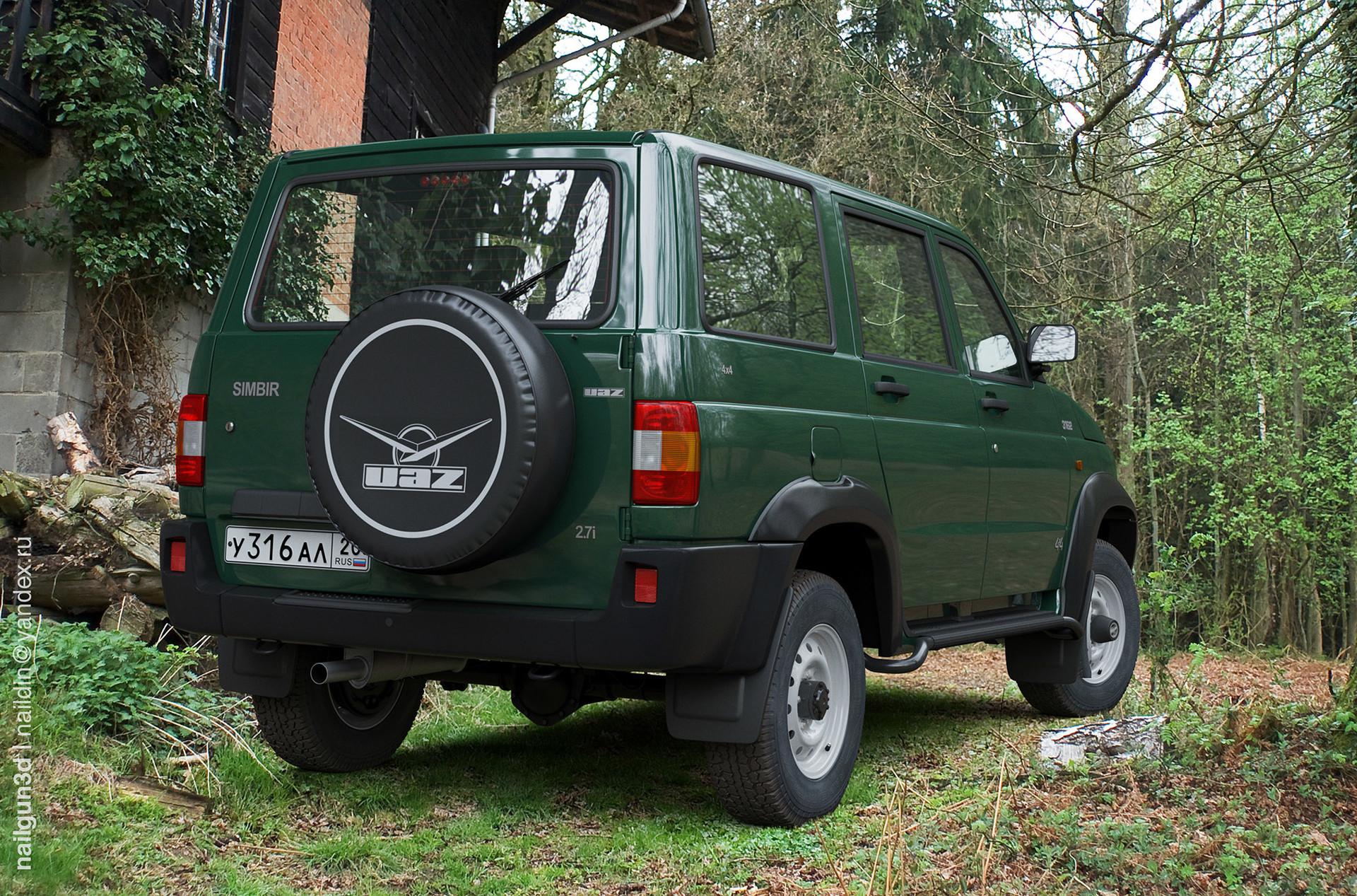 Nail khusnutdinov als 224 010 uaz 3162 simbir rear view 3x