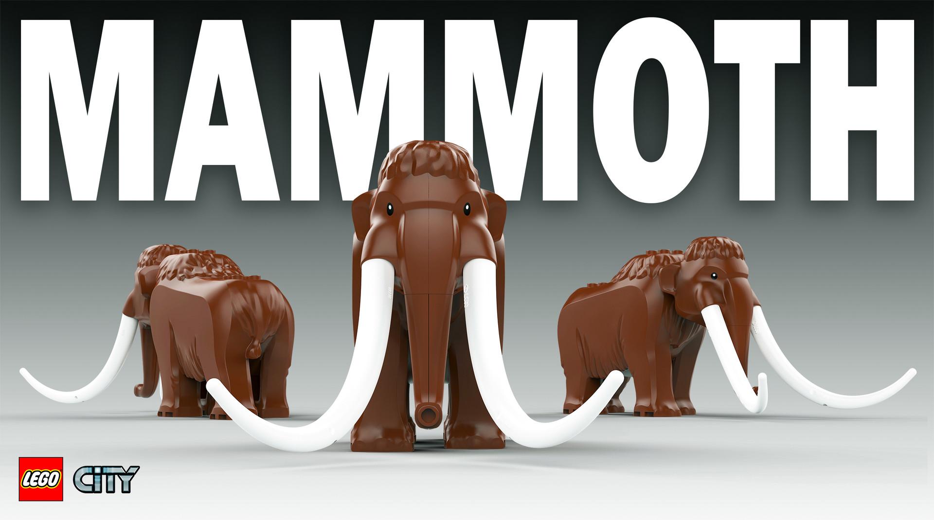 Marion wood mammoth keyshot beauty shot