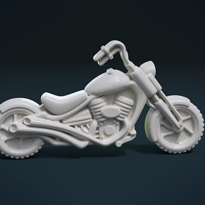 Alexander volynov motorbike cycles 01