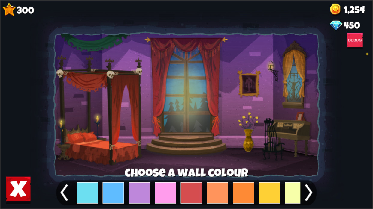 In Game Screenshot. Hotel Decoration Metagame