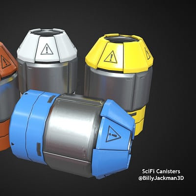 SciFi Canisters