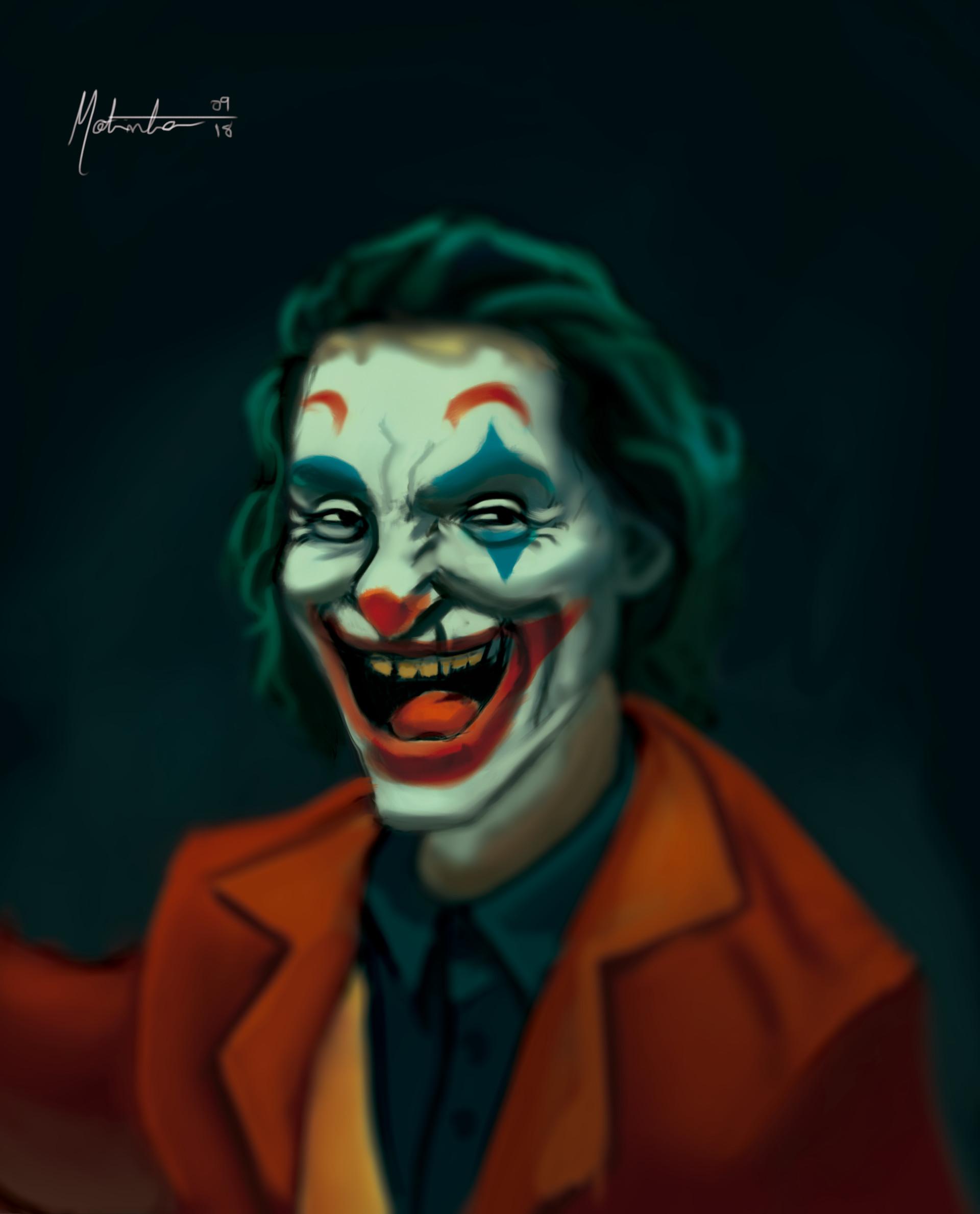 Vinicius Motinha The Joker Fanart