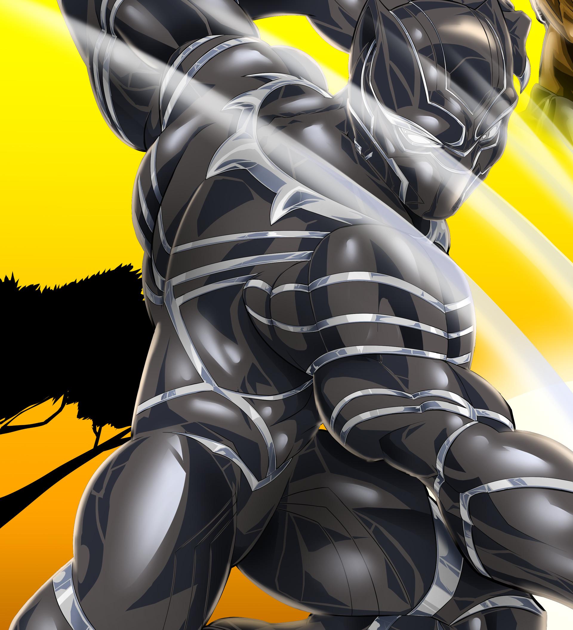 Robert e wilson black panther 4