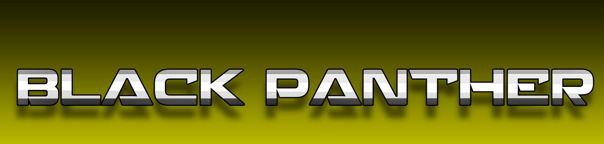 Robert e wilson black panther 5