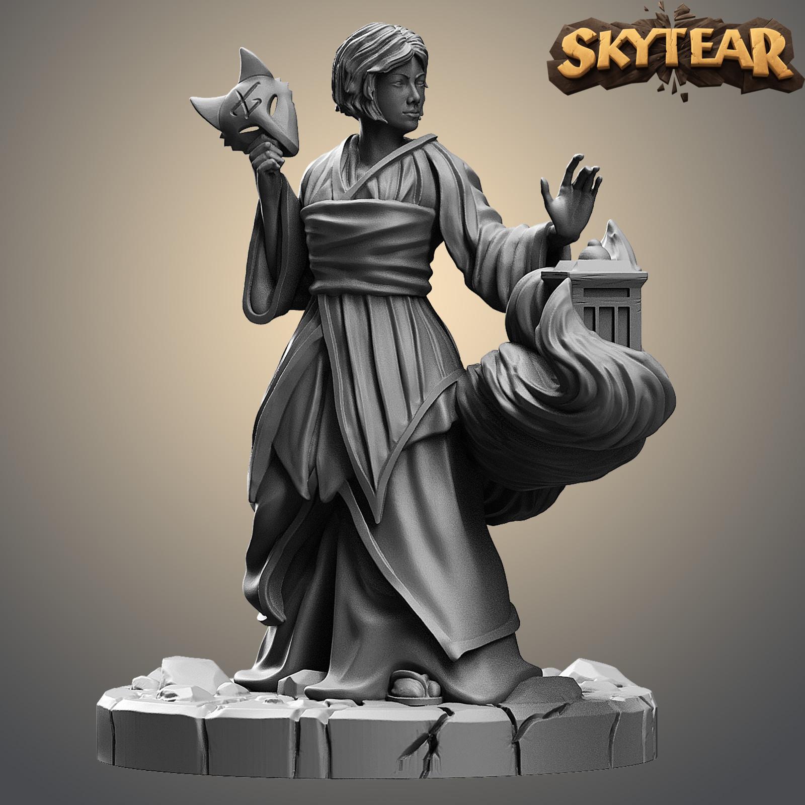 Skytear board game miniatures - Miyuki