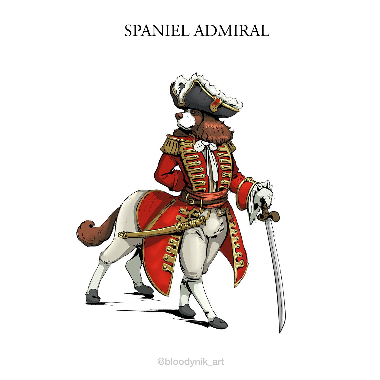 Nikita orlov spaniel admiral