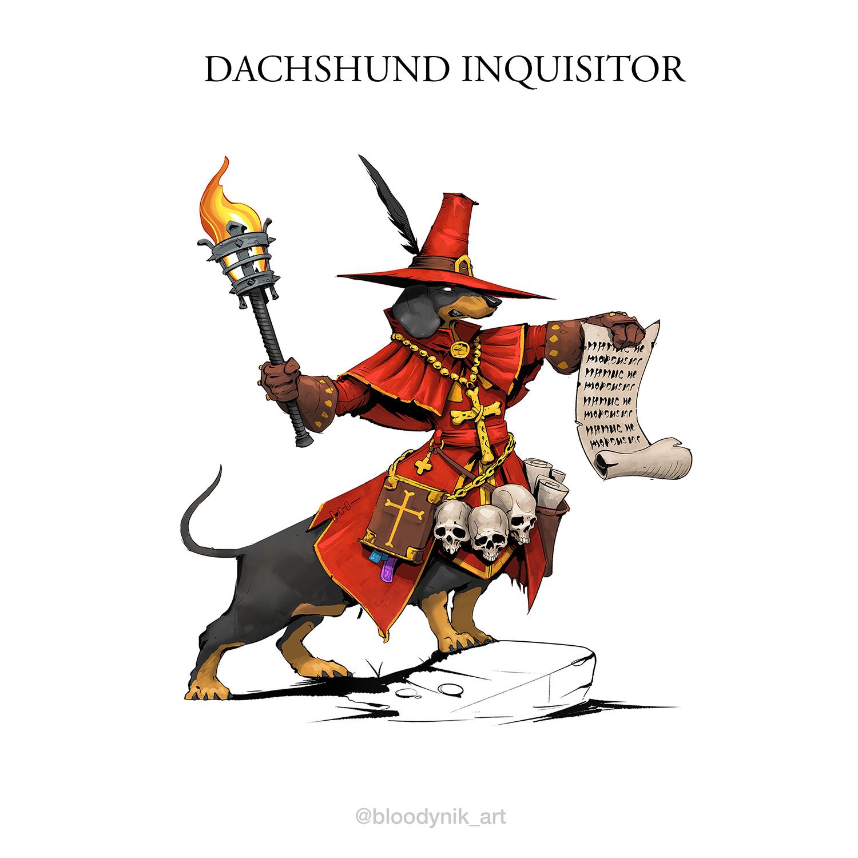 Nikita orlov dachshund inquisitor