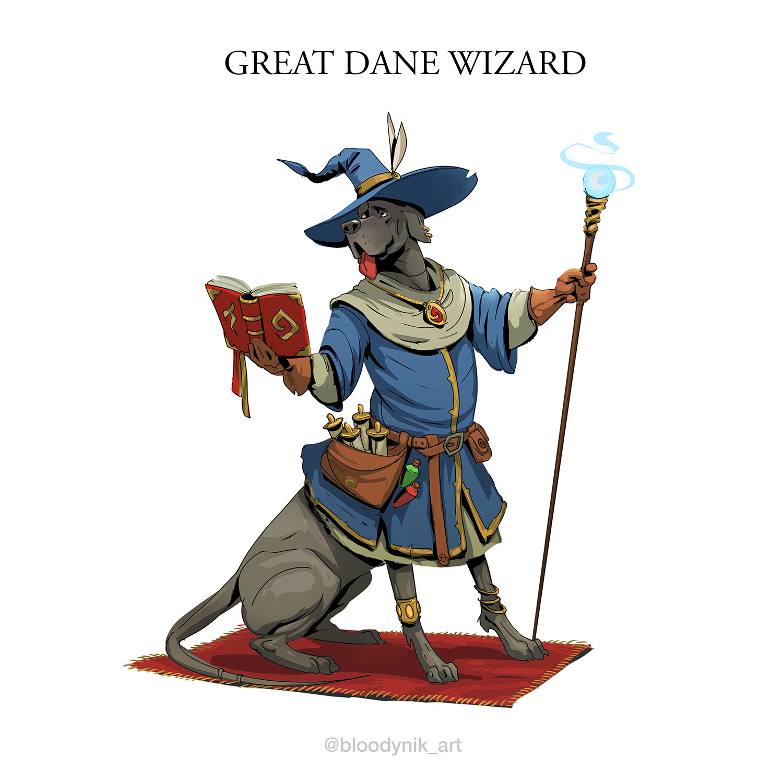 Nikita orlov great dane wizard
