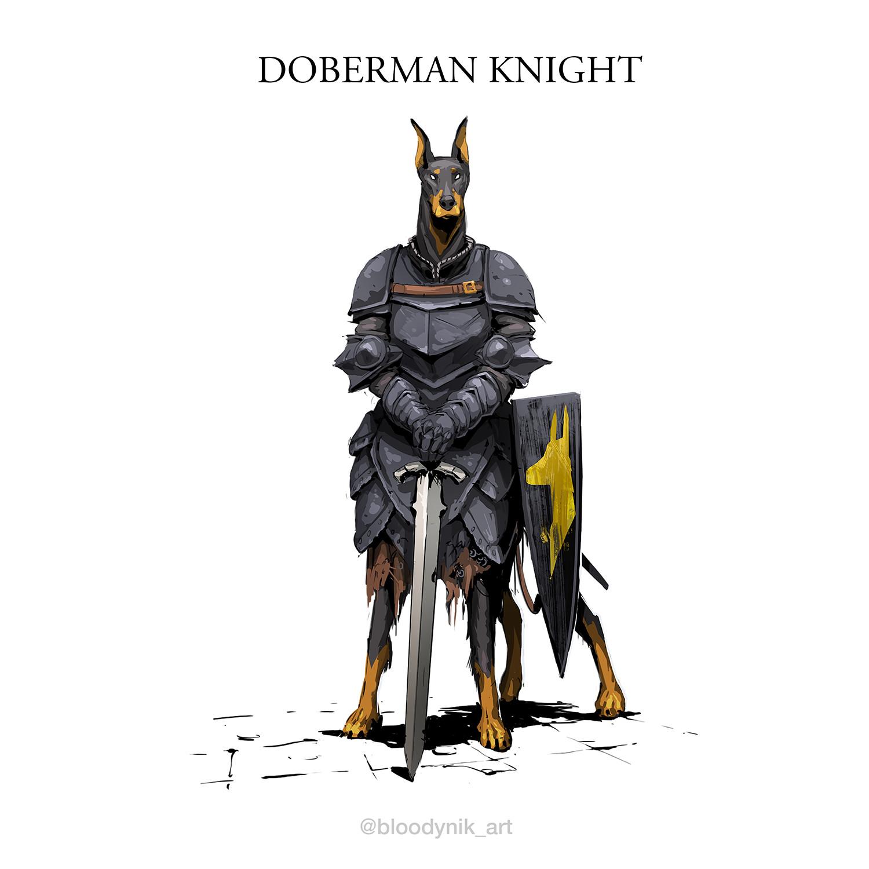 Nikita orlov doberman knight