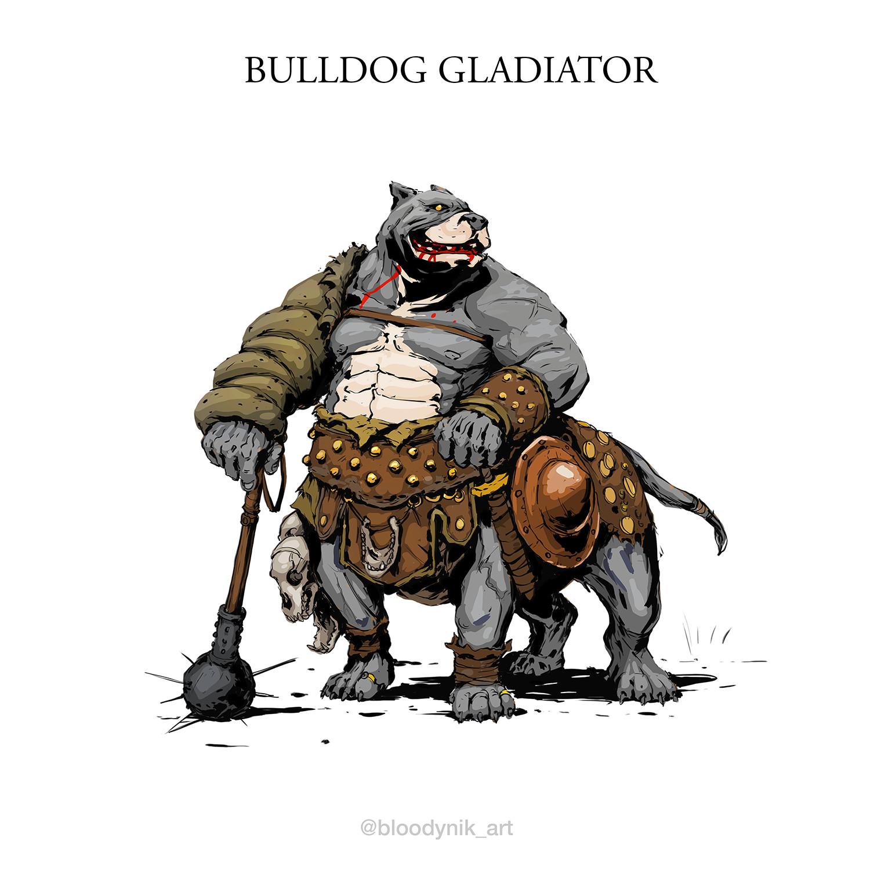 Nikita orlov bulldog gladiator
