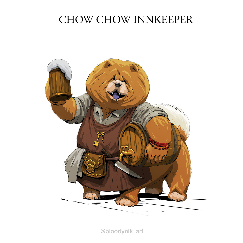 Nikita orlov chow chow innkeeper