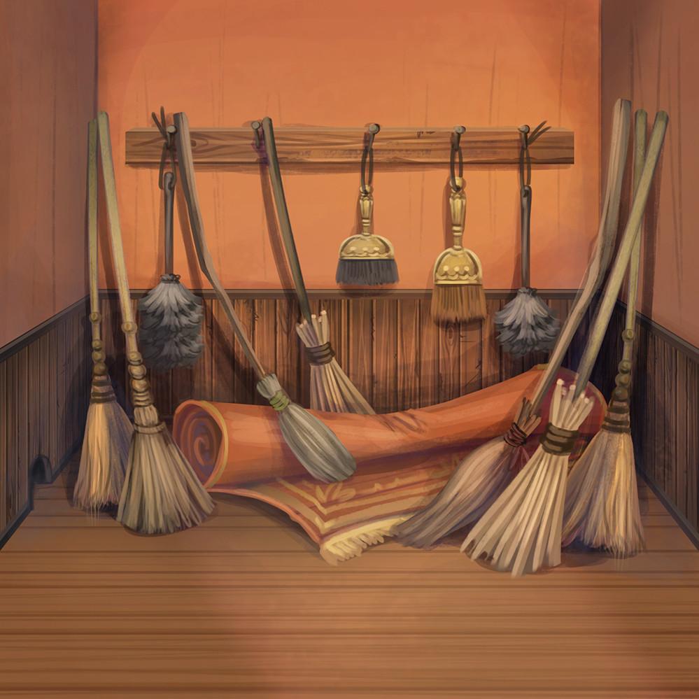 Agnieszka anez dabrowiecka utility broom closet2