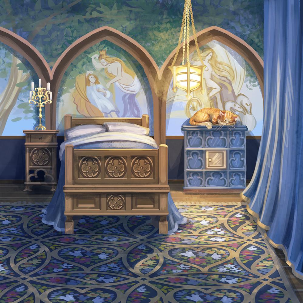 Agnieszka anez dabrowiecka sleeping tasso room