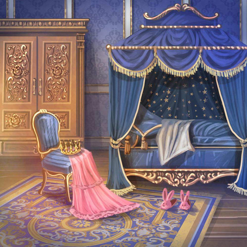 Agnieszka anez dabrowiecka sleeping princess chambers