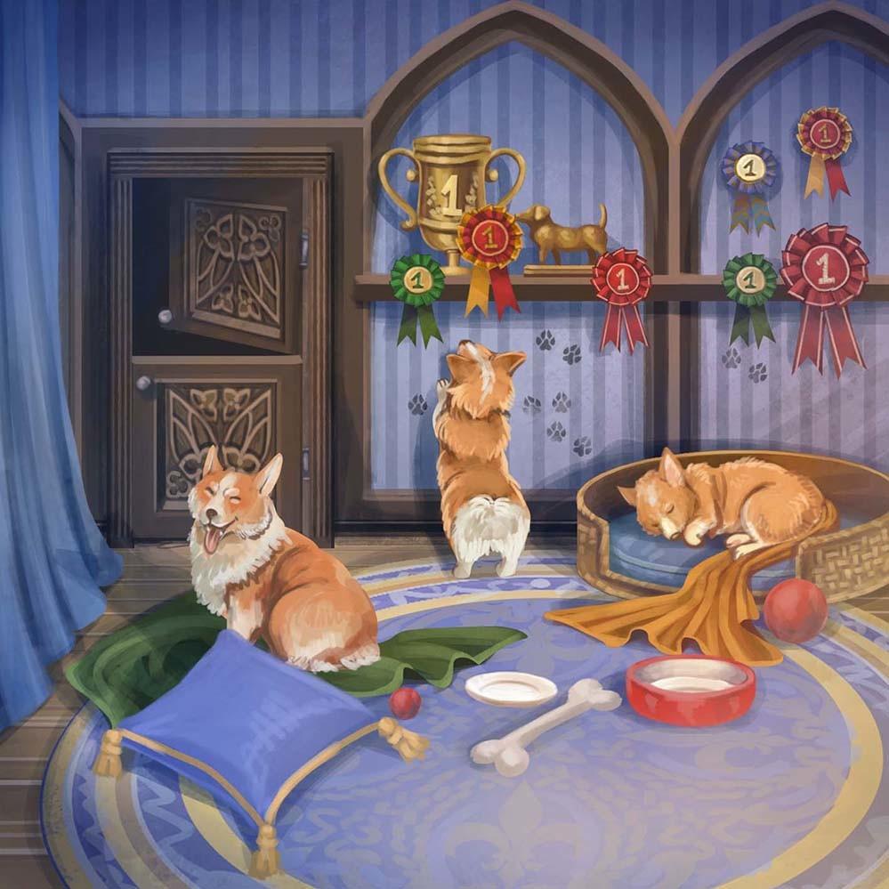 Agnieszka anez dabrowiecka sleeping puppy room