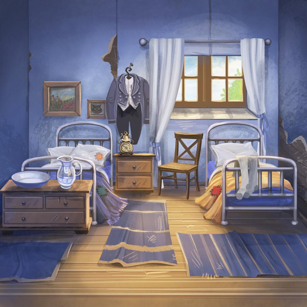 Agnieszka anez dabrowiecka sleeping servant s quarters