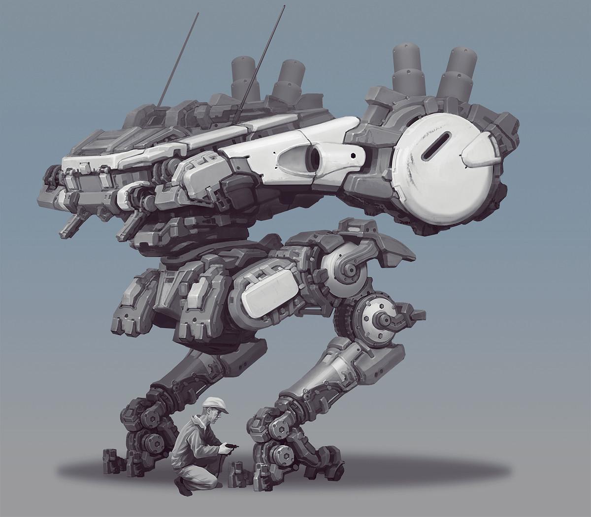 Min seub jung robot 08