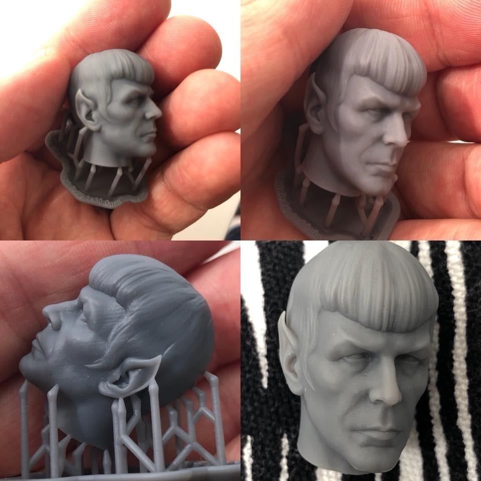 Mr Spock 3d Print