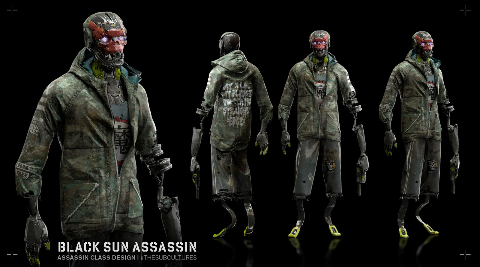 Black Sun Assassin - Turn around