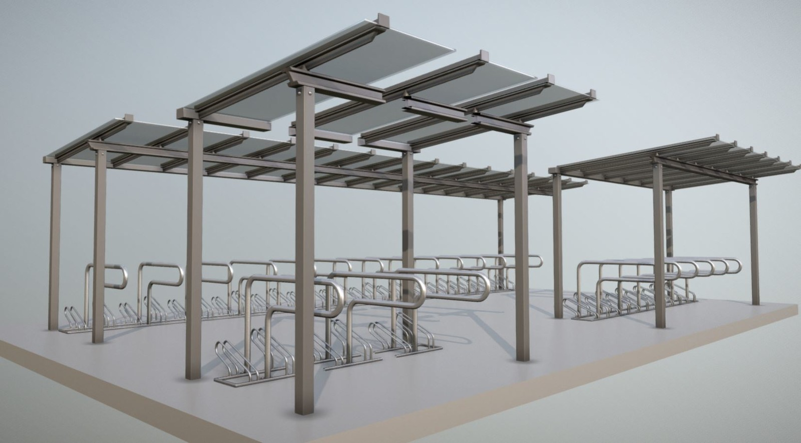 Modular-Bicycle-Shelter-Mid-Poly-Version