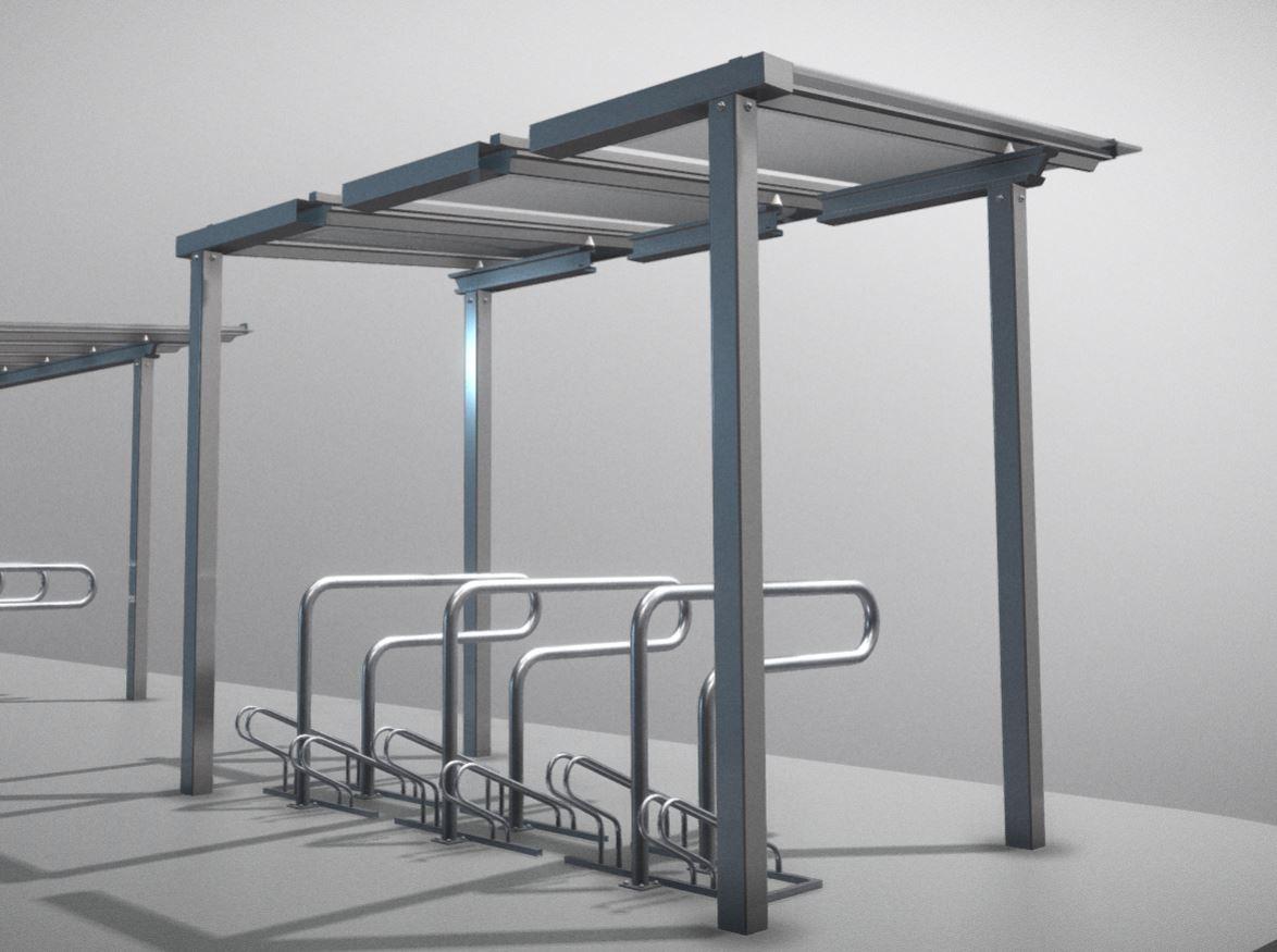 Modular-Bicycle-Shelter-High-Poly-Version.