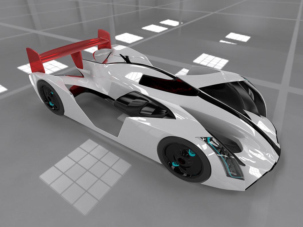 Car concept  3ds Max