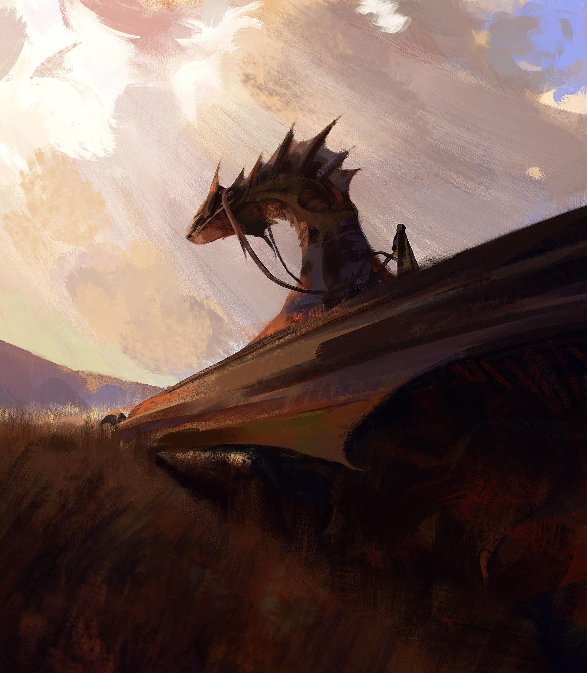 Kevin moran dragon sketch 03 web