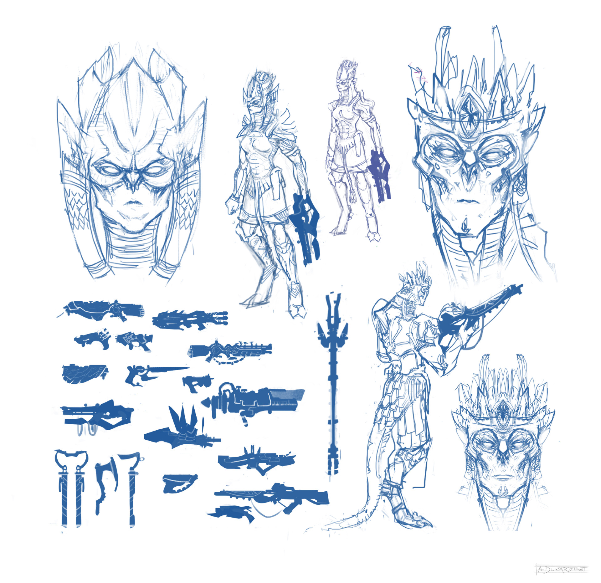Alan dukardt alien designs