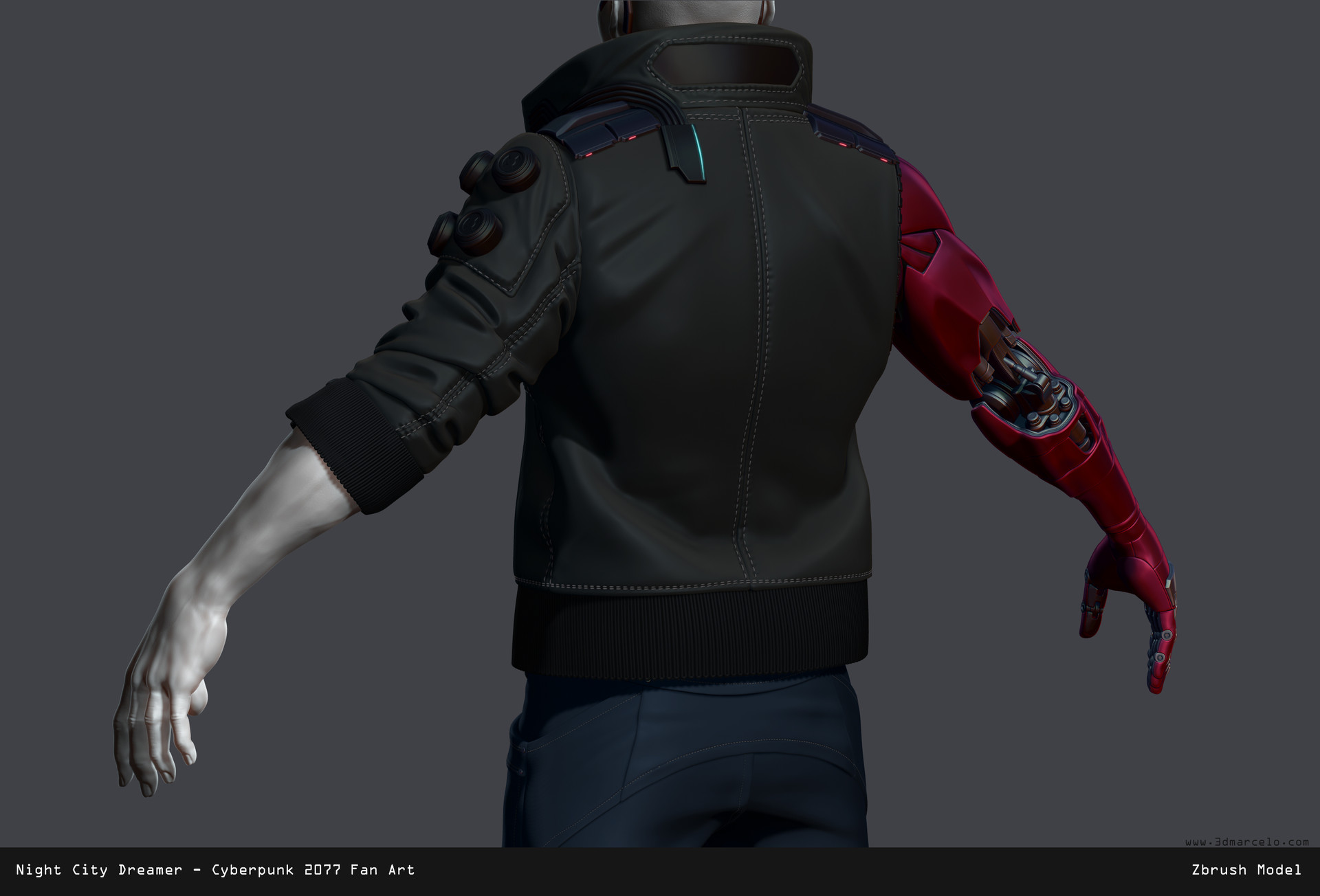 Marcelo m prado jacket back