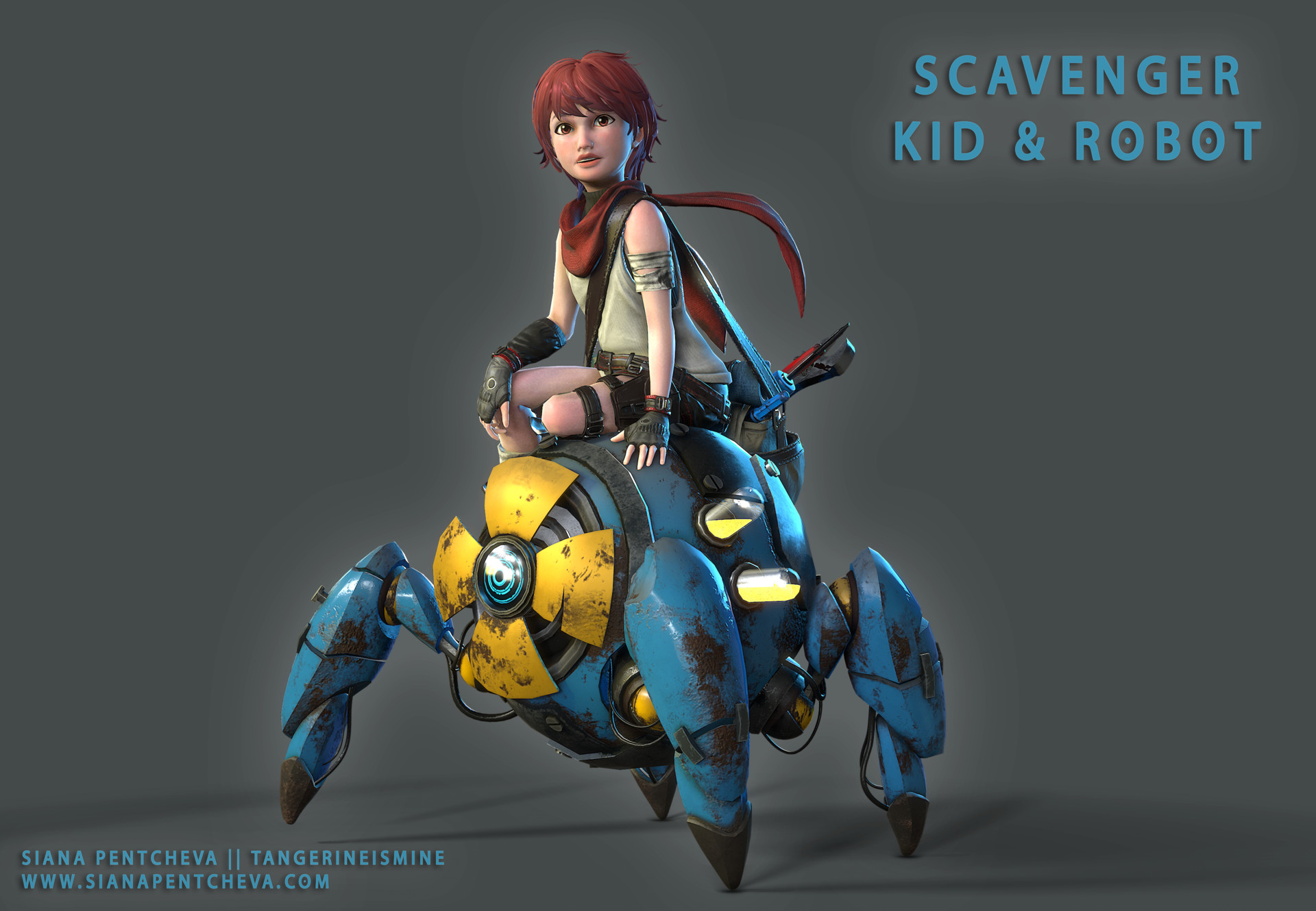 Siana pentcheva scavengerkidandrobot 3