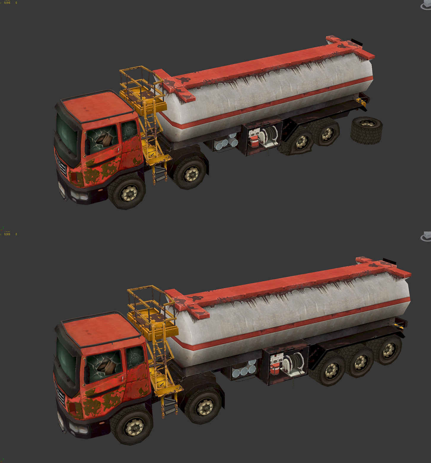 Vehicle props works