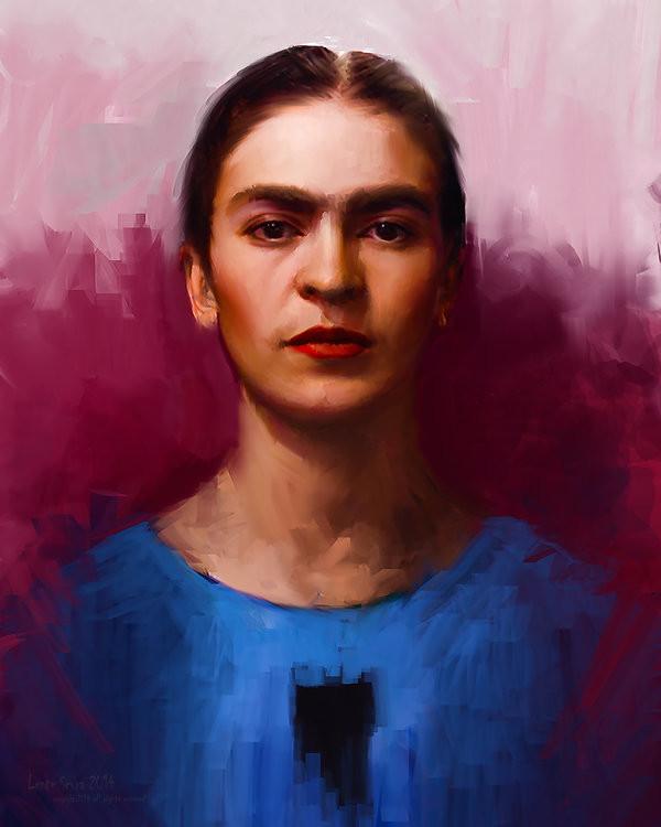 Un Ritratto di Frida Kahlo