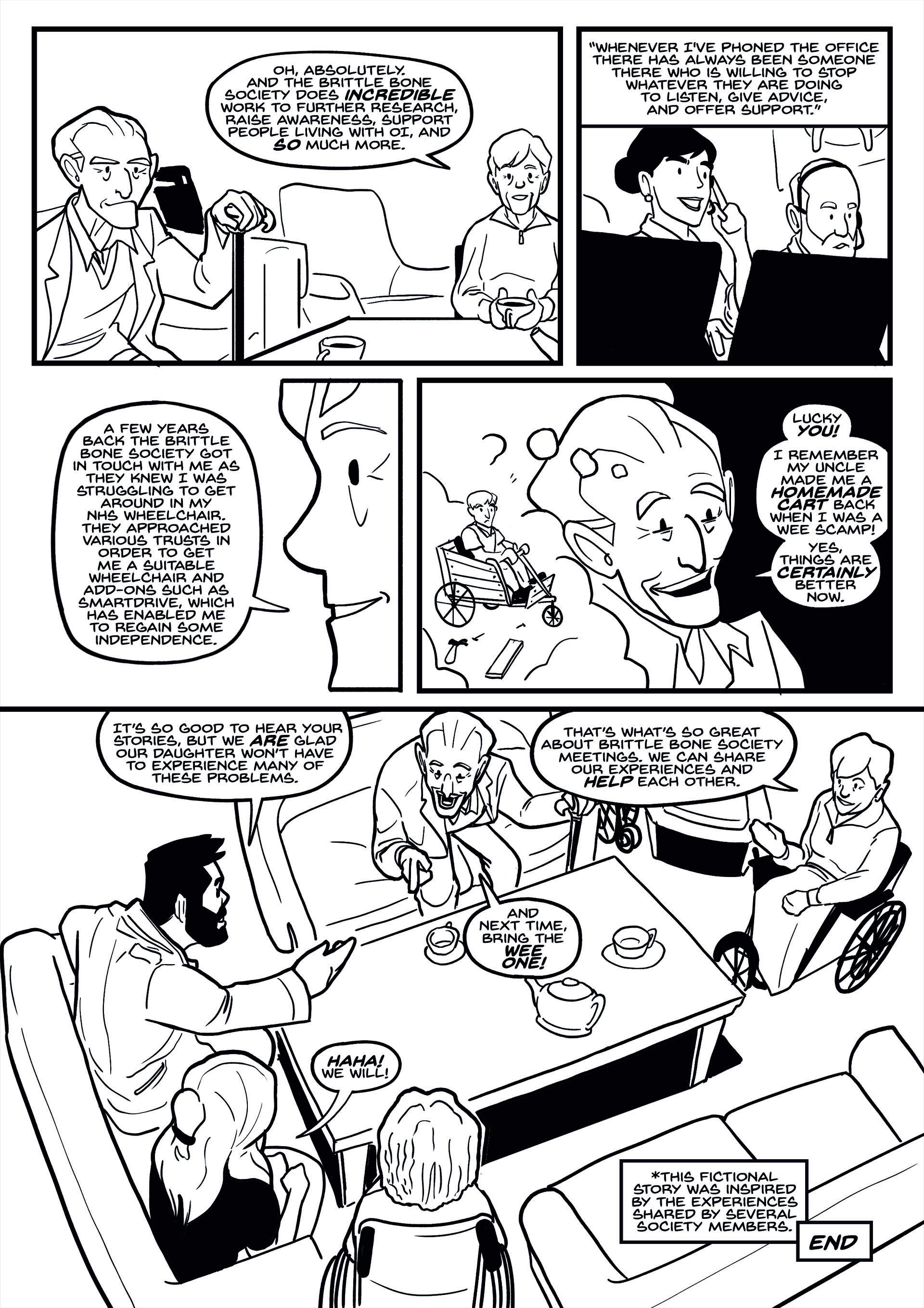Elliot balson brittle bone society comic2 page3