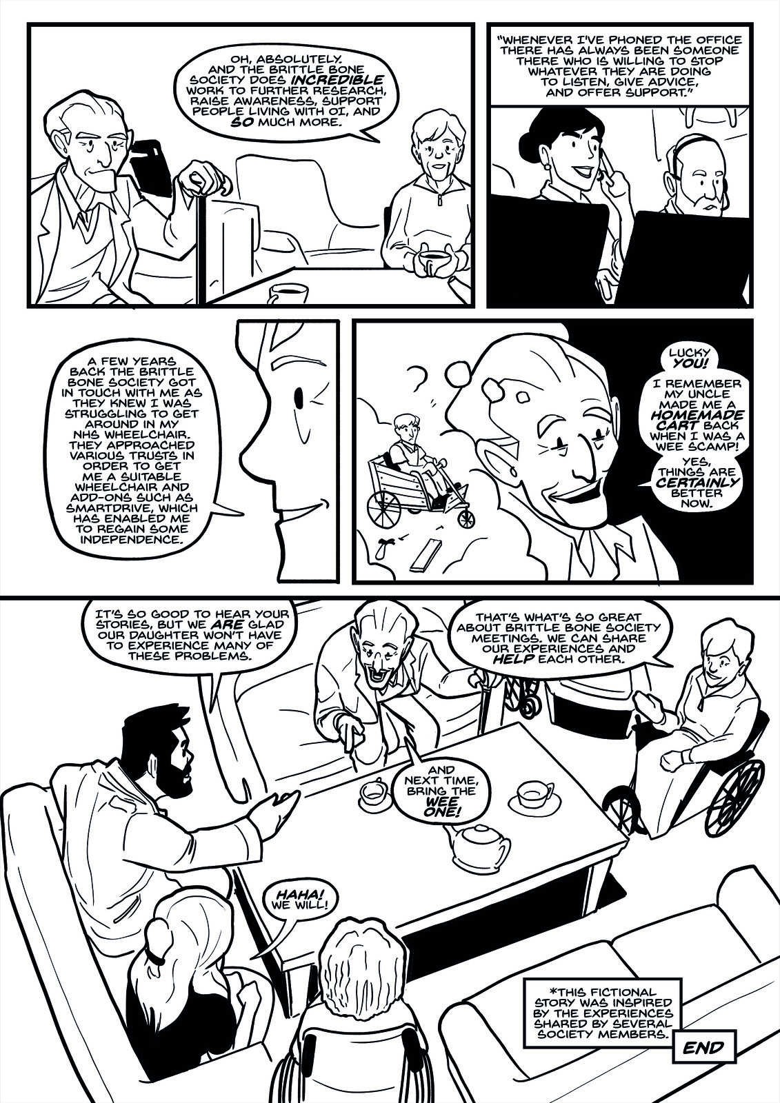 Story 2 - Page 3 Inks